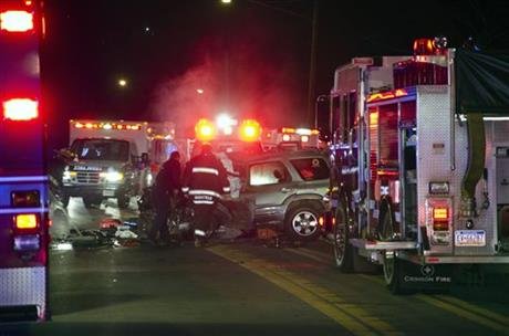 2 Pa. HS football players killed in crash ID'd