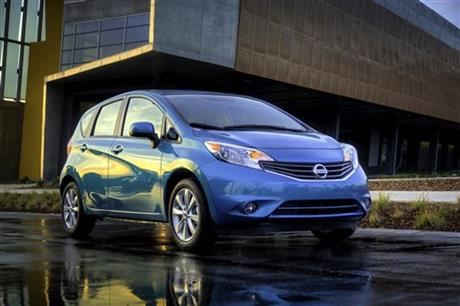 Nissan's Versa Note: Versatile and thrifty