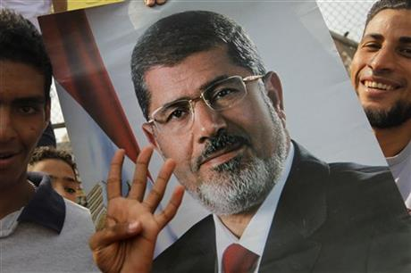 Egypt's ousted president in solitary confinement