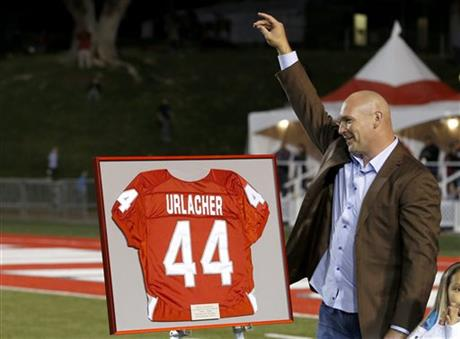 New Mexico retires Urlacher's No. 44 jersey
