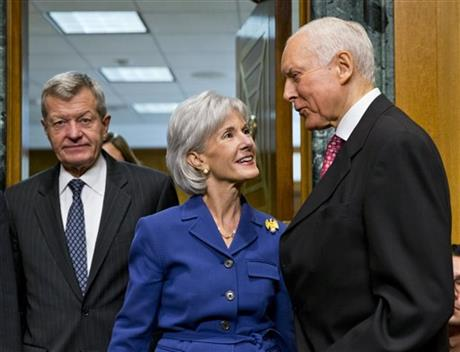 "Sebelius takes GOP criticism over ""Obamacare"""