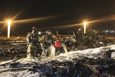 Russian crash investigators find voice recorder