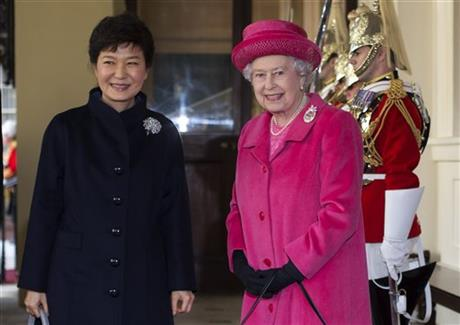 South Korea's president on state visit to UK