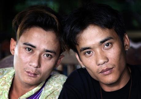 Myanmar 'God's Army' twins reunite, seek comrades
