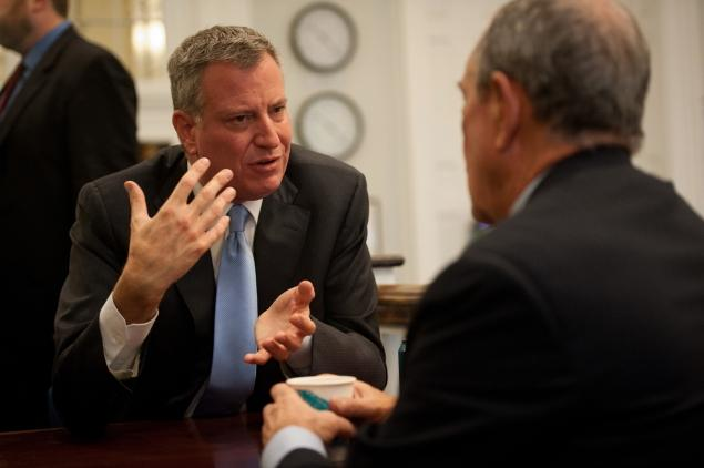 NYC mayor says he hopes successor is 'even better'