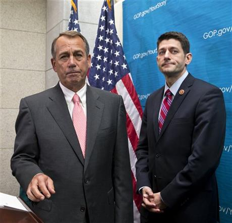 HO– USE REPUBLICANS SIGNAL SUPPORT FOR BUDGET DEAL