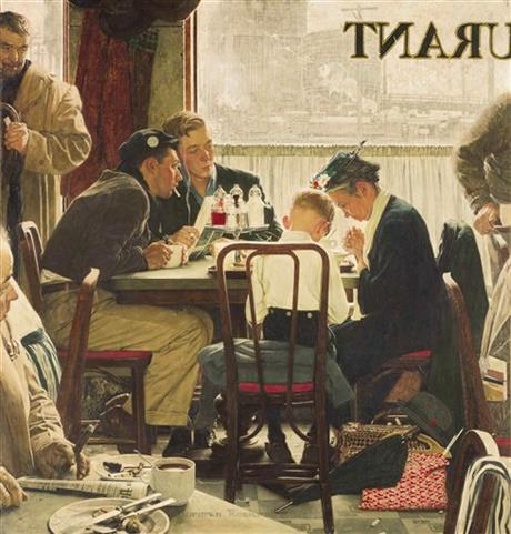 NORMAN ROCKWELL MASTERPIECES AT NYC AUCTION