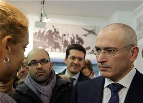 KHODORKOVSKY: I WON'T GET INVOLVED IN POLITICS