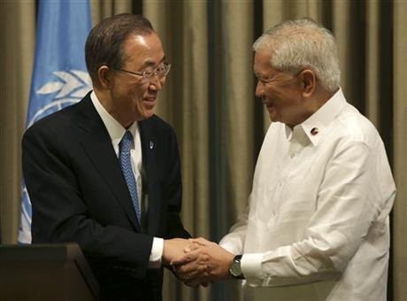 UN URGES MORE AID FOR PHILIPPINE TYPHOON RECOVERY
