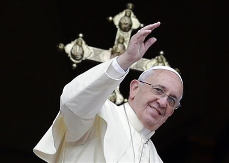 POPE'S CHRISTMAS WISH: HOPE FOR A BETTER WORLD
