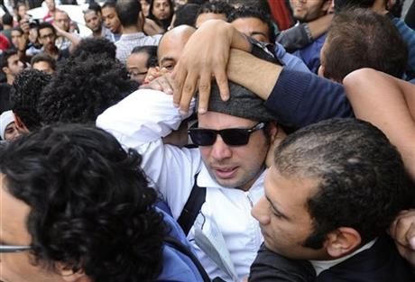 ICONS OF EGYPT'S PROTEST MOVEMENT IMPRISONED