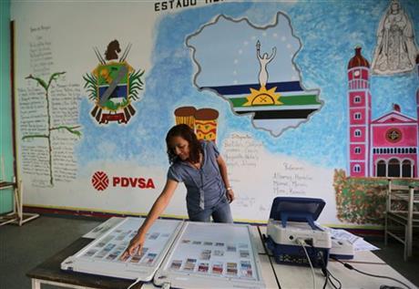 VENEZUELAN PRESIDENT FACES FIRST ELECTORAL TEST