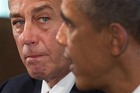 SPEAKER BOEHNER ENDS ROUGH YEAR ON A HIGH NOTE