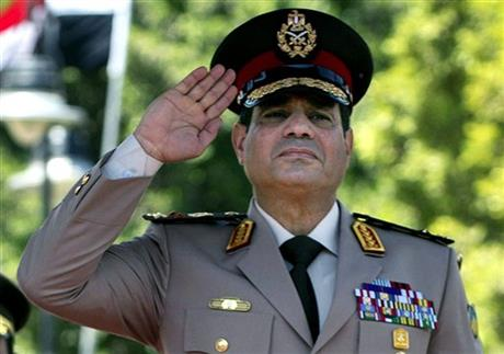 EGYPT ARMY CHIEF WHO LED COUP PROMOTED TO TOP RANK