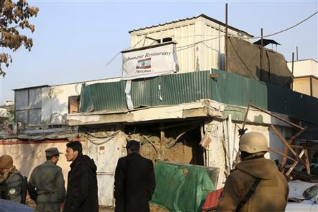 SUICIDE ATTACK ON AFGHAN RESTAURANT KILLS 21