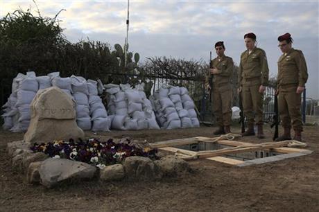 ISRAEL RETALIATES TO GAZA FIRE AFTER SHARON BURIAL