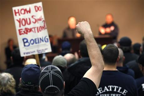BOEING MACHINISTS VOTING ON CONTRACT TIED TO 777X