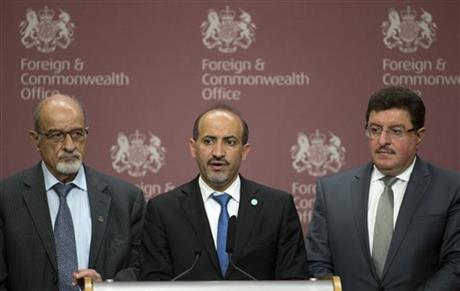 SYRIAN OPPOSITION GROUP ON BRINK OF COLLAPSE