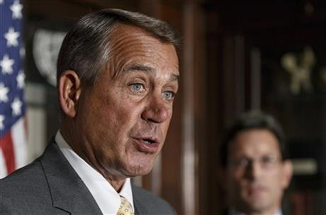 HO– USE GOP LEADERS URGE OBAMA, DEMS TO ACT ON BILLS