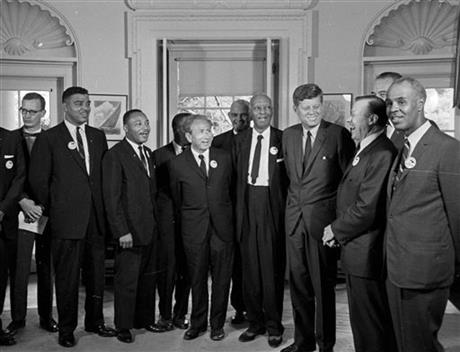 MLK DISCUSSES KENNEDY IN REDISCOVERED 1960 TAPE
