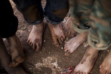 UN: 'UNSPEAKABLE SUFFERING' FOR SYRIA'S CHILDREN
