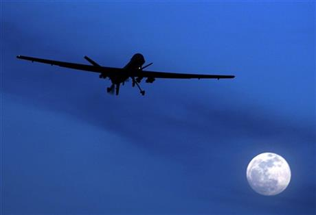 US SUSPECT POSSIBLY TARGETED FOR DRONE ATTACK