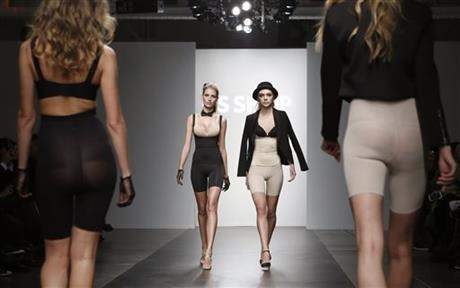 MODELS IN SPANX KICK OFF NEW YORK FASHION WEEK