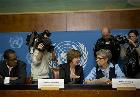 UN COMMITTEE BLASTS VATICAN ON SEX AB– USE, ABORTION