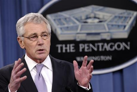 HAGEL ADDS URGENCY TO PUSH FOR ETHICS CRACKDOWN