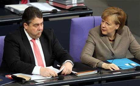 GERMAN GOVERNMENT DISPUTE OVER CHILD PORN PROBE