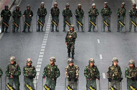 Thailand's junta bans all anti-coup protests