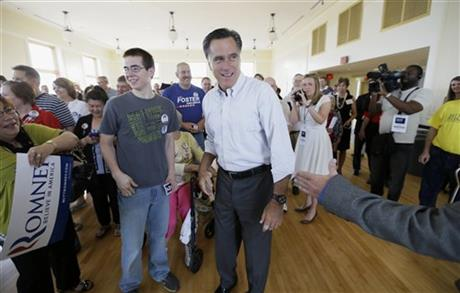 Romney tries to re-emerge as force in GOP politics