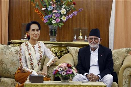 Myanmar committee's vote a setback for Suu Kyi
