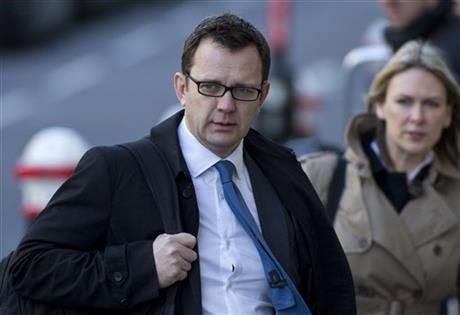 Ex-UK editor  Andy Coulson convicted of phone hacking
