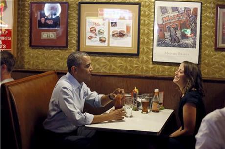Facing headwinds, President Barack Obama courts 'real America'