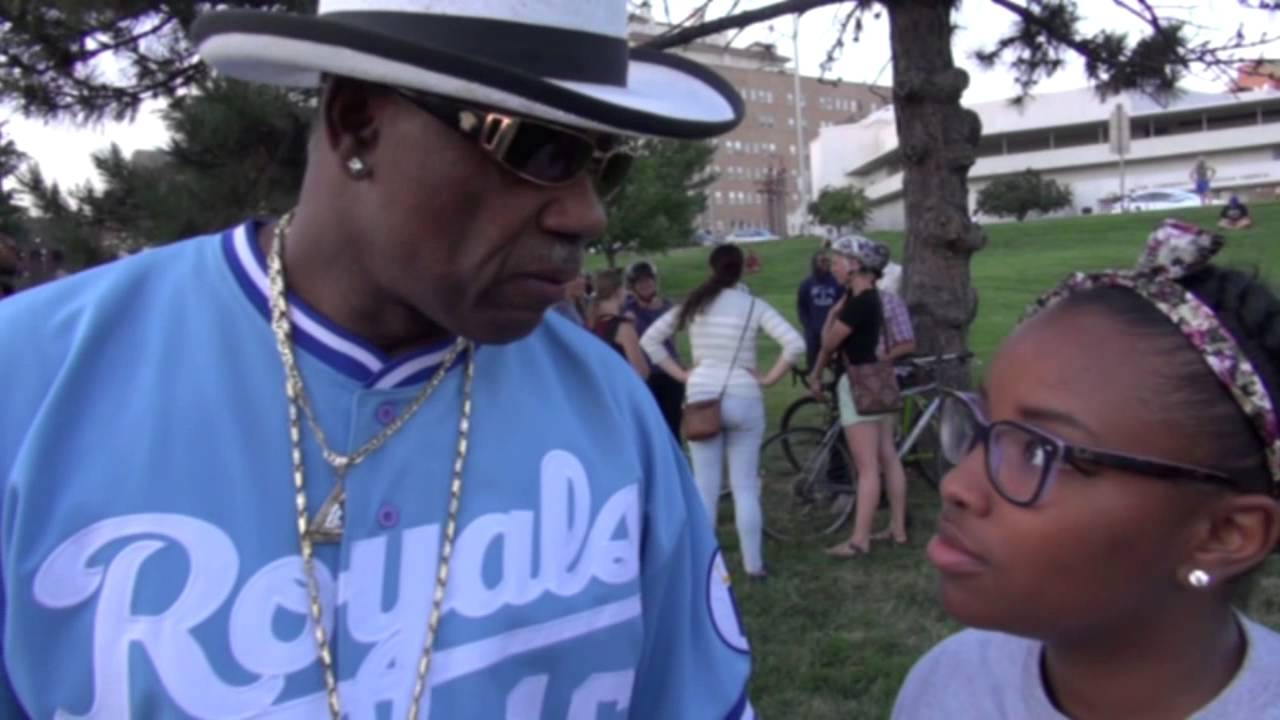 Interview with Robert Rally At The Michael Brown National Moment of Silence
