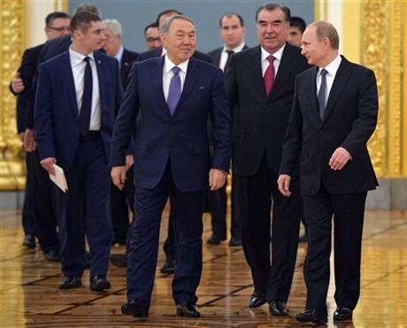 Russia, 4-ex-Soviet nations finalize new alliance
