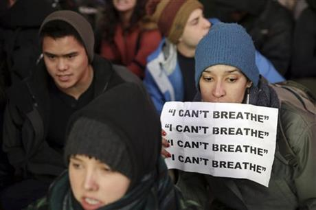 'I can't breathe!' tops list of notable quotes