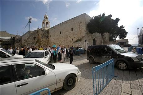 Jesus' birthplace grapples with modern traffic challenges