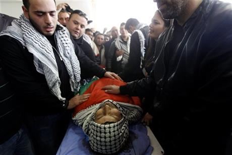 Dispute over what killed Palestinian official