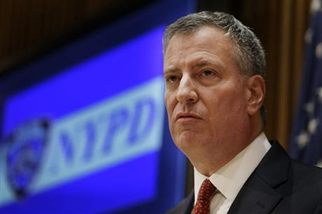 Battered NY mayor calls for temporary protest halt