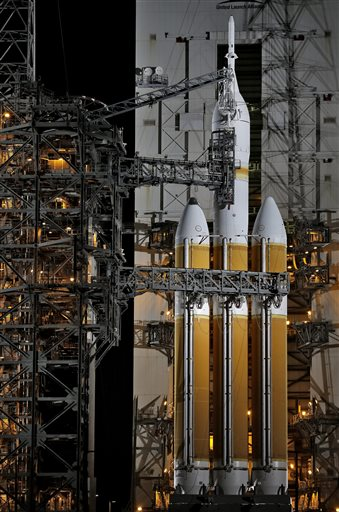NASA scrubs Orion launch; will try again Friday