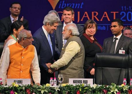 Kerry urges rapid growth in US-India trade, commercial ties