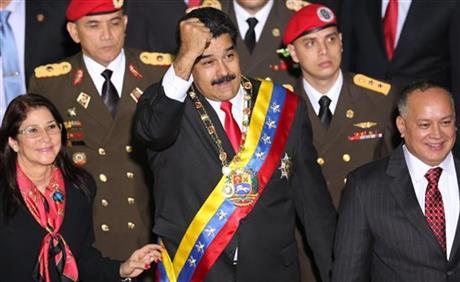 Venezuela's No. 2 distances himself from defecting bodyguard