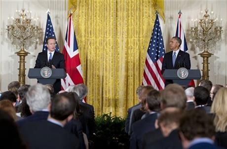 Obama, Cameron pledge to help seek justice for Paris attacks