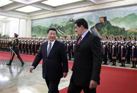 Venezuela's Maduro in China seeking aid for stricken economy