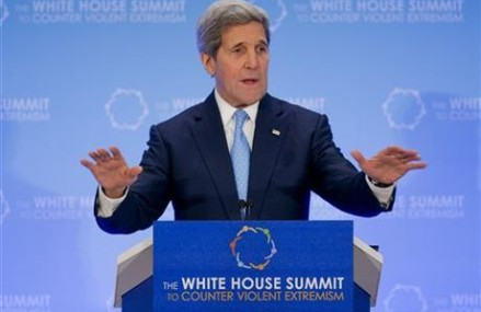 Kerry: Fighting extremism requires more than military action