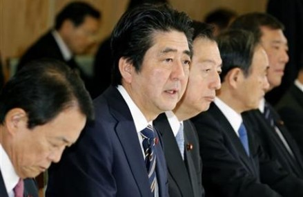 Prime Minister Shinzo Abe defends handling of hostage crisis