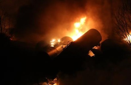 W.Va. oil train derailment was 1 of 3 with safer tank cars