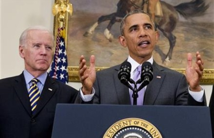 Obama open to changes to military authority against IS